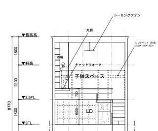 空飛ぶ本棚南北断面図.jpg