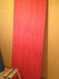 脱衣の赤とトイレの青の扉.jpg